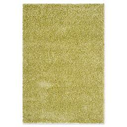 Safavieh Charlotte 5-Foot 1-Inch x 7-Foot 6-Inch Shag Area Rug in Green