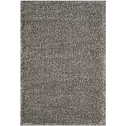 Safavieh Charlotte 9-Foot x 12-Foot Shag Area Rug in Grey