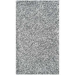 Safavieh Malibu 2-Foot 6-Inch x 4-Foot Shag Accent Rug in Silver