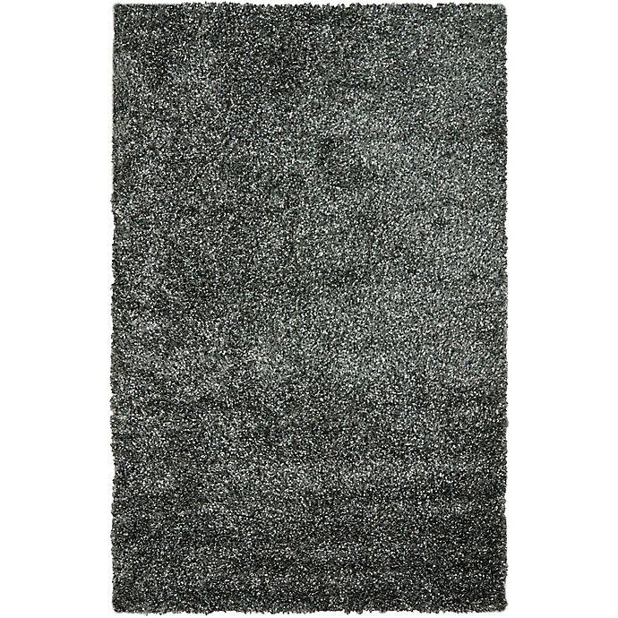 Alternate image 1 for Safavieh Malibu 8-Foot x 10-Foot Shag Area Rug in Charcoal