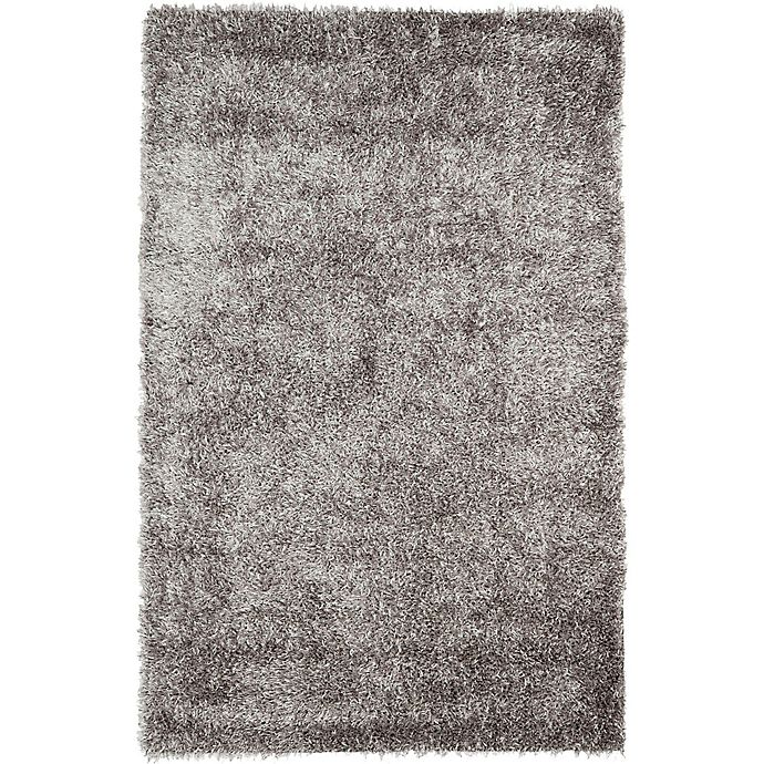 Alternate image 1 for Safavieh New Orleans 2-Foot 6-Inch x 4-Foot Shag Accent Rug in Grey