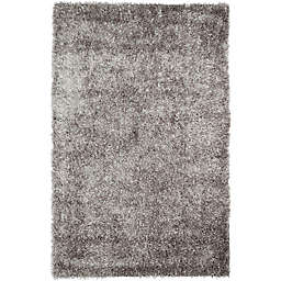 Safavieh New Orleans 2-Foot 6-Inch x 4-Foot Shag Accent Rug in Grey