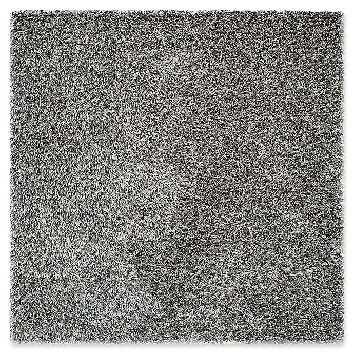 Alternate image 1 for Safavieh New Orleans 7-Foot Square Shag Area Rug in Platinum
