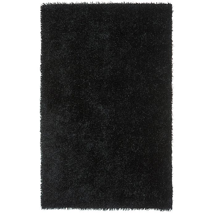 Alternate image 1 for Safavieh New Orleans 8-Foot x 10-Foot Shag Area Rug in Black
