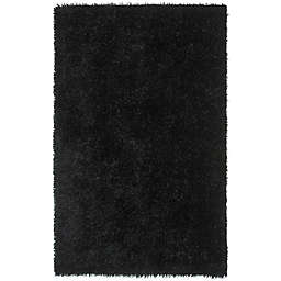 Safavieh New Orleans 8-Foot x 10-Foot Shag Area Rug in Black