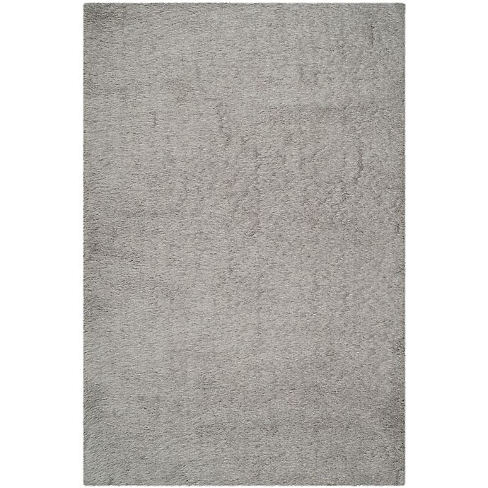 Alternate image 1 for Safavieh Venice 6-Foot x 9-Foot Shag Area Rug in Silver