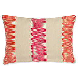 Harlequin Amazilia Striped Oblong Throw Pillow in Natural Linen