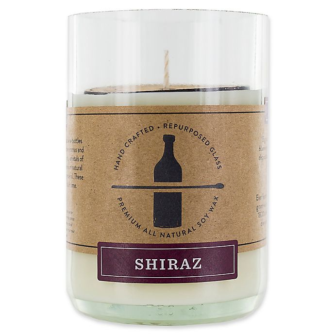 Alternate image 1 for Shiraz 11 oz. Repurposed Glass Soy Wax Candle
