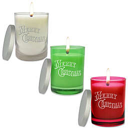 Carved Solutions Christmas Unscented Soy Wax Candle