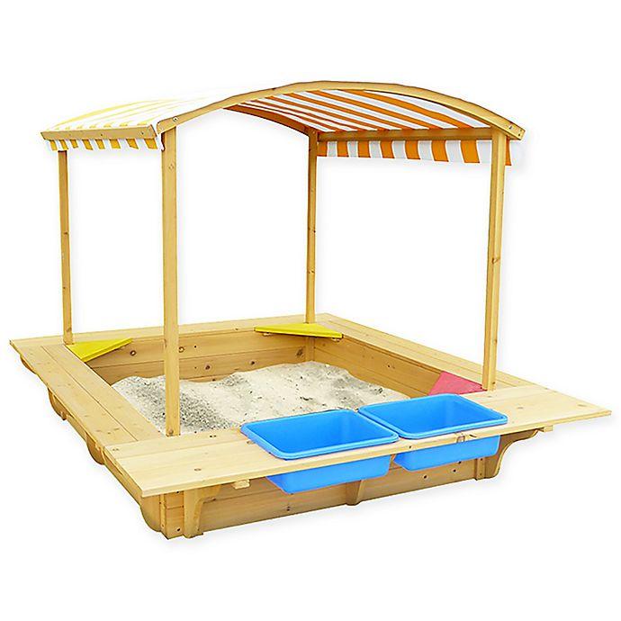 Alternate image 1 for Outward Play Explorer Playfort Sand Pit