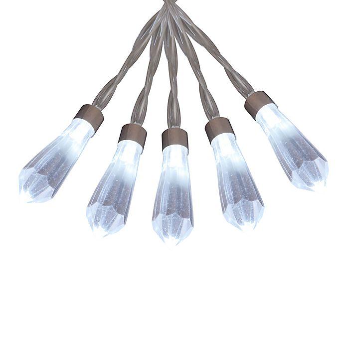 Alternate image 1 for 16-Light Chandelier LED String Light Set in Clear