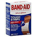 Johnson & Johnson® Band-Aid® 20-Count Tough-Strips Adhesive Bandages