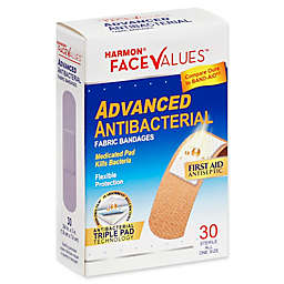 Harmon® Face Values™ 30-Count Fabric 3/4 Adhesive Bandages