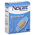 Nexcare™ 20-Count Waterproof Clear Bandages One Size
