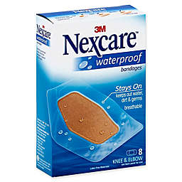 Nexcare™ 8-Count Waterproof Clear Bandage for Knee and Elbow
