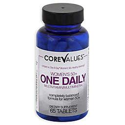 Core Values™ 65-Count Women's 50+ Daily Multi-Vitamin