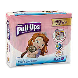 Pull-Ups® Cool and Learn Jumbo 25-Count Disposable Girl's Size 2-3T Training Pants