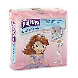 Pull-Ups® Cool and Learn Jumbo 22-Count Disposable Girl's 3T in 4T Training Pants