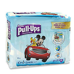 Pull-Ups® Cool and Learn Jumbo 25-Count Disposable Boy's 2T in 3T Training Pants