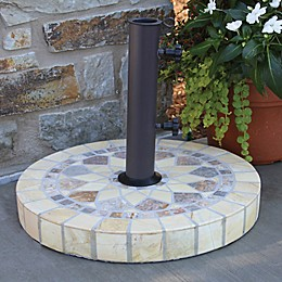 Outdoor Interiors 20-Inch Round Umbrella Base