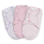 SwaddleMe® 3-Pack Large You're Mine Adeline Original Swaddles in Pink