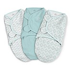 SwaddleMe® 3-Pack Small Newport Shores Original Swaddles in Aqua
