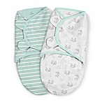 SwaddleMe® 2-Pack Large Organic Cotton Little Rascal Original Swaddles in Mint