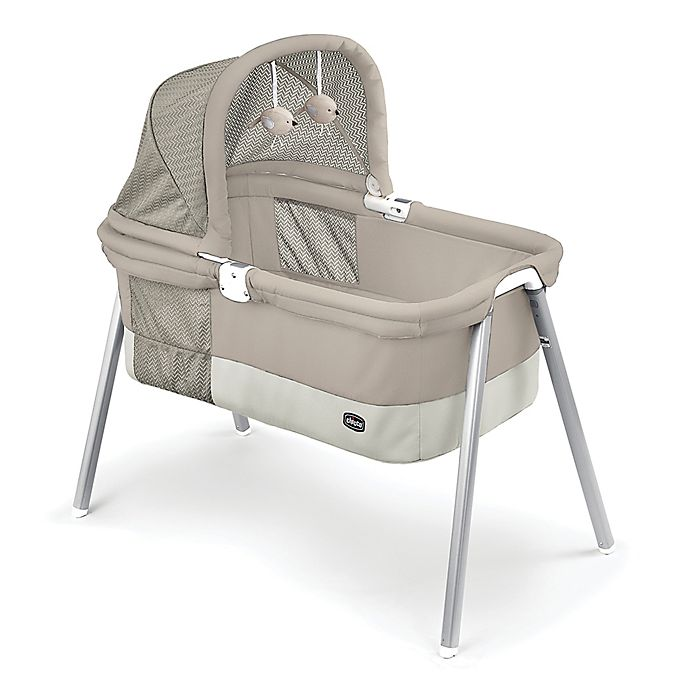Alternate image 1 for Chicco® Lullago Deluxe Travel Crib in Taupe