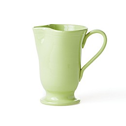 viva by VIETRI Fresh Large Footed Pitcher in Pistachio