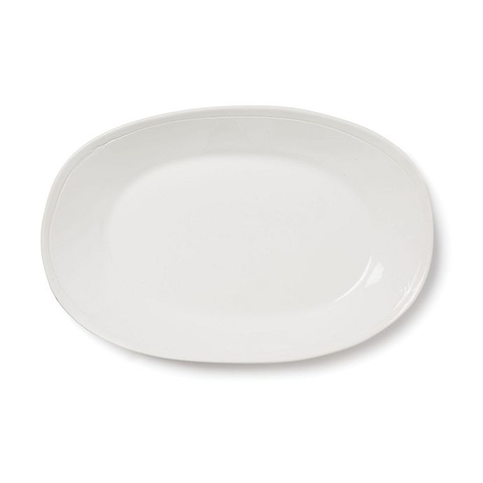 Alternate image 1 for viva by VIETRI Fresh Large Oval Platter in White