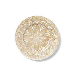 viva by VIETRI Lace Dinner Plate in Natural