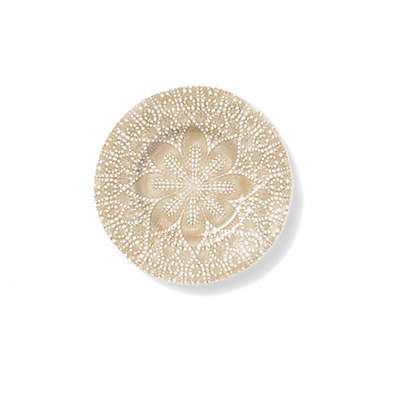 viva by VIETRI Lace Salad Plate in Natural