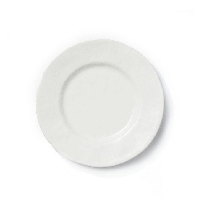 Alternate image 1 for viva by VIETRI Lace Dinner Plate in White