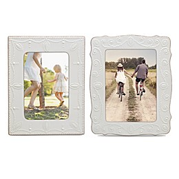 Lenox® French Perle™ Picture Frame in White