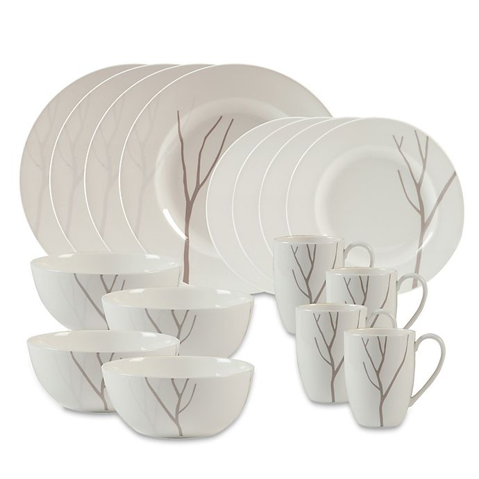 Alternate image 1 for Lenox® Park City™ 16-Piece Dinnerware Set