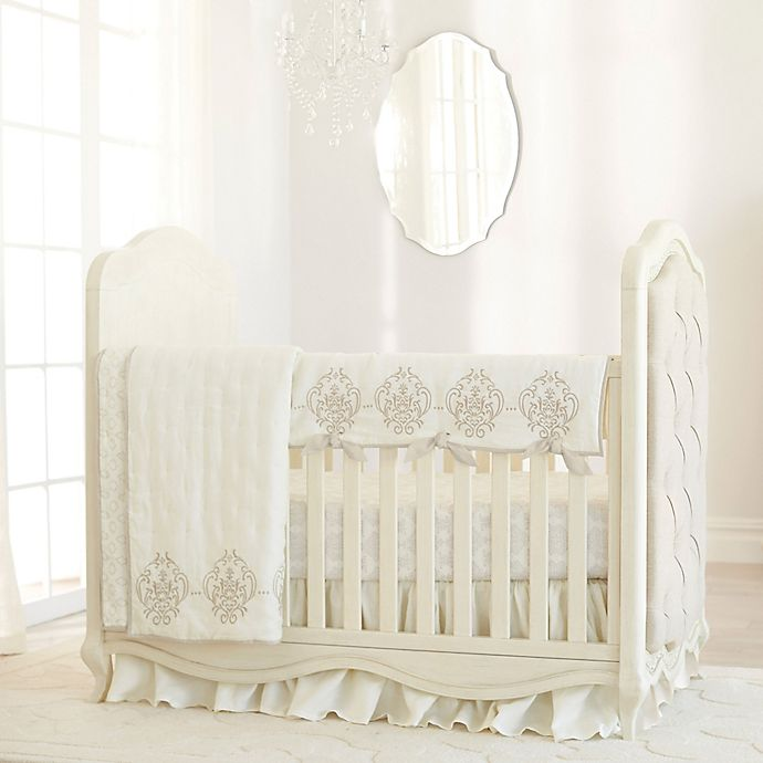 Alternate image 1 for Just Born® Keepsake Linen Crib Bedding Collection