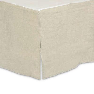 Just Born® Keepsake Crib Skirt in Flax