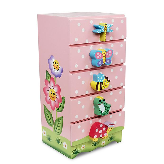 Alternate image 1 for Teamson Fantasy Fields Magic Garden Jewelry Box