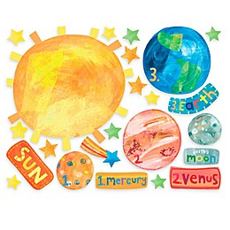 Wallies Solar System Peel & Stick Wall Decals