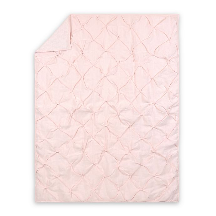 Alternate image 1 for Just Born® Keepsake Quilt in Pink