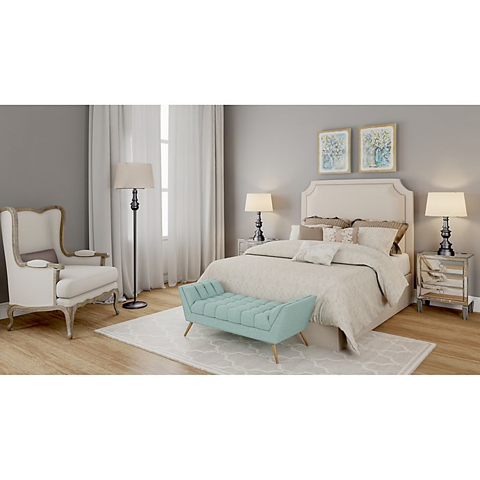 Touch Of Teal Glam Bedroom Bed Bath Amp Beyond