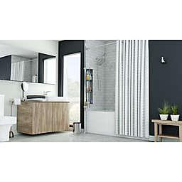 Chic Charcoal Modern Bath