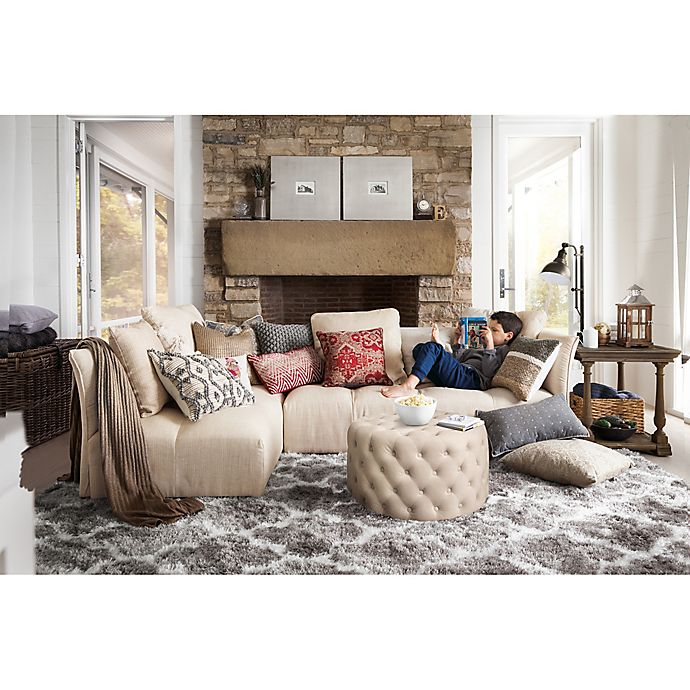 Living Room Bed Bath And Beyond: Rustic Comfort Living Room
