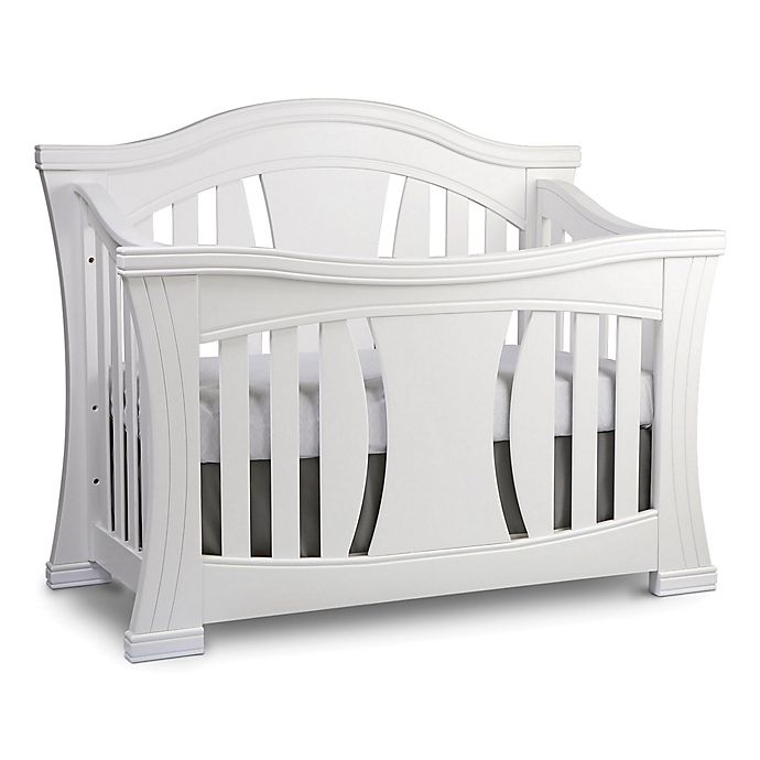 Alternate image 1 for Baby Appleseed® Palisade 4-in-1 Convertible Crib in Pure White