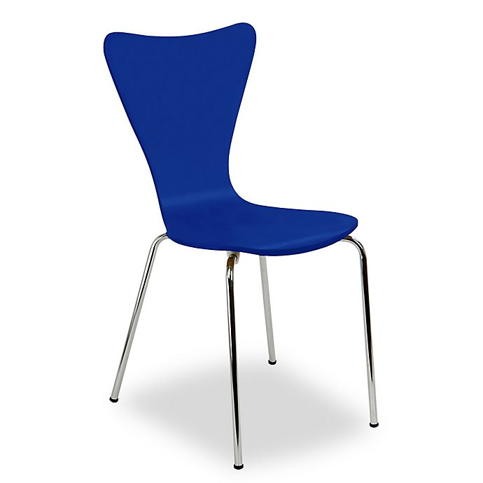 Alternate image 1 for Legare® Bent Plywood Chair in Blue