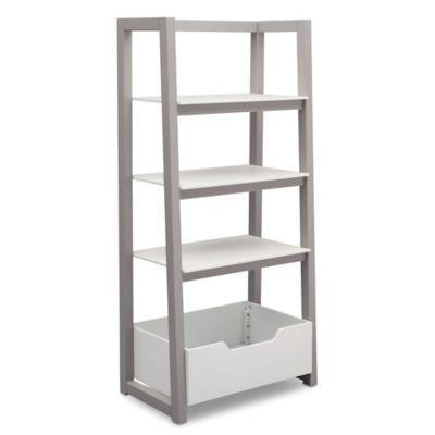 Delta Children Ladder Shelf In White Grey Bed Bath Amp Beyond