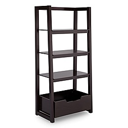 Delta Children Ladder Shelf in Dark Chocolate