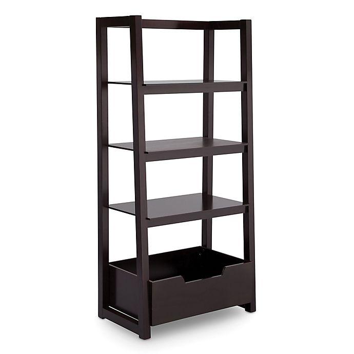 Alternate image 1 for Delta Children Ladder Shelf in Dark Chocolate