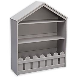 Serta Happy Home Storage Bookcase in Grey
