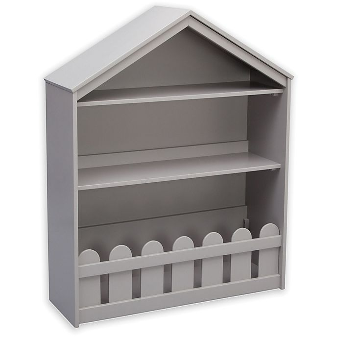 Alternate image 1 for Serta Happy Home Storage Bookcase in Grey
